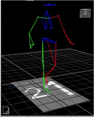 wireframe-walking