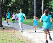 Running with tics