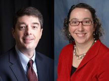 Dr. Nick McFarland and Dr. Melissa Armstrong